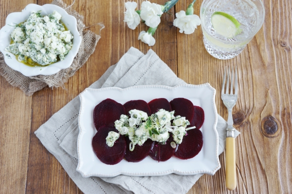 Beetroot & Marinated Feta Salad