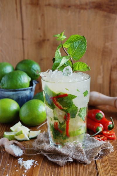 Coconut Chilli Mojito - Cocktail