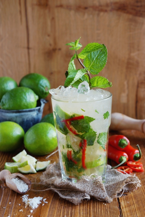 Coconut Chilli Mojito - Cocktail