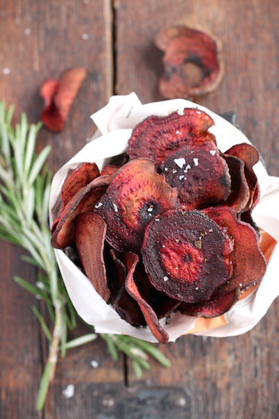 Beetroot Rosemary Chips