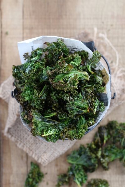 Curly Kale Chips